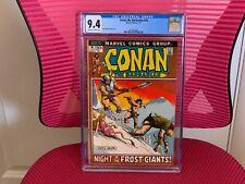Conan the Barbarian #16 CGC 9.4