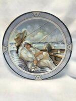 "Trisha Romance - Limited Edition Collector's Plate  - ""Little Sailor"" - 8"""