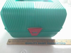 Vintage Sassaby Jewelry Case Makeup Cosmetic Organizer Caboodle Caboodles