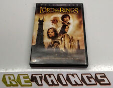 The Lord of the Rings: The Two Towers (DVD, 2003, 2-Disc Set) Free Shipping!