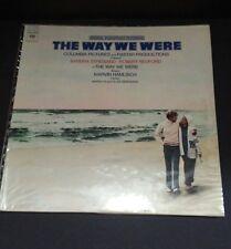 The Way We Were Barbra Streisand Marvin Hamlisch Soundtrack Columbia Records