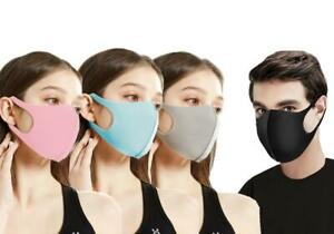 4 PACK FACE COVERING WASHABLE MULTICOLOUR *NEW*