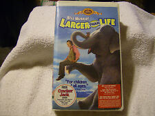 Larger Than Life VHS 1997 Clamshell Family Treasures CLAM SHELL / NEW / SEALED