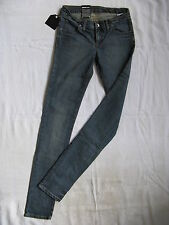 DR.DENIM Damen Blue Jeans Stretch Röhre W25/L32 Gr.32 x-low waist slim fit tube