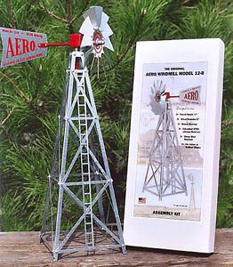Aero Model 17 Inch UNASSEMBLED Miniature Steel windmill ..13.....  AEO-12-B