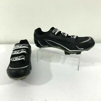 Pearl Izumi All Road Cycling Shoes Men's Size 9 Black Mountain Bike New *READ*