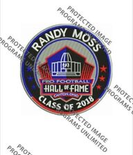 RANDY MOSS 2018 NFL HALL OF FAME PATCH HOF INDUCTION MINNESOTA VIKINGS FOOTBALL