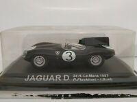 1/43 JAGUAR D 24H LE MANS 1957 FLOCKHART BUEB IXO ESCALA SCALE DIECAST