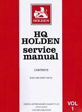 Holden Books and Manuals