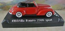 Solido 4160 ALFA ROMEO 2500 SPORT 1:43 SCALA ROSSO NUOVA