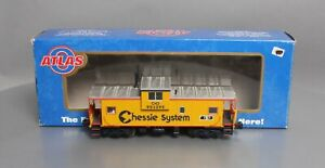 Atlas 6607-1 O Gauge Chessie System Extended Vision Caboose [3Rail] #903295 LN