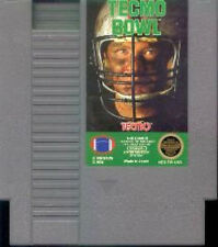 TECMO BOWL with cosmetic flaws ORIGINAL CLASSIC GAME SYSTEM NINTENDO NES HQ