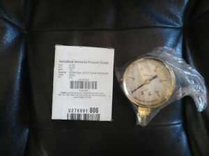 "2-1/2"" AGRICULTURAL AMMONIA PRESSURE GAUGE 0 to 150 psi - 4CFW4  NPT 1/4"