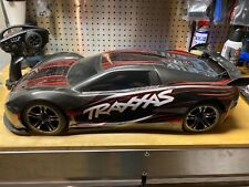TRAXXAS 6407 XO-1 BRUSHLESS 1/7 SCALE 100+MPH SUPERCAR  TQI 2.4 BLACK/RED
