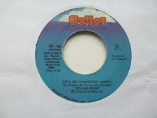 """BOILING POINT Let's Get Funktified USA 7"""" EX Cond"""