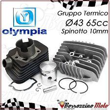 GRUPPO TERMICO OLYMPIA 65cc CILINDRO Ø43 SPINOTTO 10mm PIAGGIO SI BOSS GRILLO 50