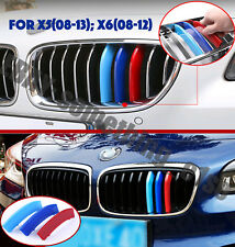 BMW X5/E70 2008-13 Grille M Power/Motorsport Tri-Color Cover/Cap/clip/bande/Trim