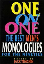 One on One: The Best Mens Monologues for the Nine