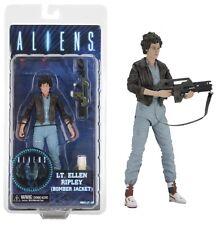 """Aliens Lt Ellen Ripley Bomber Jacket Series 12 7"""" Action Figure NECA"""
