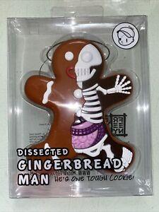 Jason Freeny XXRAY  Dissected Gingerbread Man Vinyl Art  Mighty Jaxx