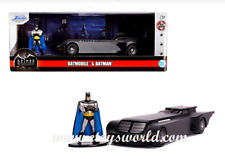 Jada Batmobile Animated Hollywood Rides 1966 w/Batman Figure Diecast 1/32