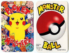 "PROMO POKEMON JAPANESE POCKET MONSTERS ""TEREBIKUN"" 1998 - POKE BALL POKEBALL"