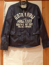 G-STAR RAW MEN'S PRE-OWNED WINDBREAKER, JACKET SIZE M