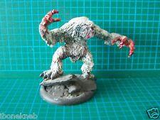 Citadel Warhammer Heresy Miniatures Monster Giant Snow Troll Yeti Metal Painted
