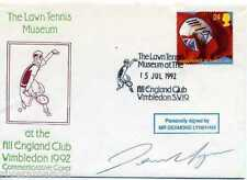 1992 Tennis Cover SIGNED Des Lynam