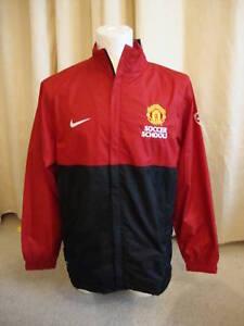 Manchester United Soccer Schools Training Jacket BNWT M