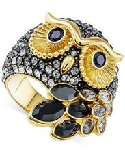 Swarovski Crystal Owl Ring Gold-toned, Size 55/7, Item 5410399