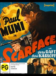 SCARFACE : PAUL MUNI [IMPRINT LIMITED EDITION] (BLU RAY)
