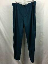 Patagonia Mens Full-Zip Rain Trekking/Hiking Pants Blue Size XL