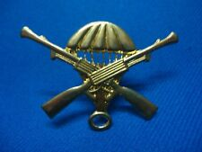 PORTUGAL MILITARY FIRST PARATROOPS PARACHUTE BADGE AFRICA COLONIAL WAR 45mm