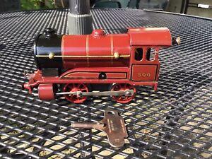 Vintage Hornby Meccano Clockwork Locomotive Train.