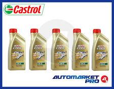 5 LITRI OLIO MOTORE CASTROL EDGE 10W60 FST TITANIUM A3/B4 BMW 04 VW 50500 50501