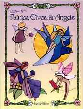 Stained Glass Pattern Book - Fairies, Elves, & Angels