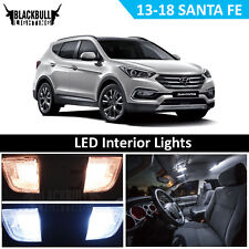 LED Interior Lights Replacement Package Kit for 2013-2018 Santa Fe