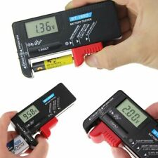 Universal Digital LCD AA/AAA/C/D/9V/1.5V Button Cell Battery Volt Tester BT-168D