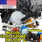 Pyroelectric Infrared (PIR) Motion Sensor Switch DIY [SOLDERING REQUIRED]