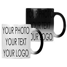 Colour Changing PERSONALISED Magic Mug Cup Heat Custom Photo GIFT WRAP