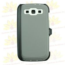 For Samsung Galaxy S3 case cover(Belt Clip Holster Fits Otterbox Defender)Gry WT