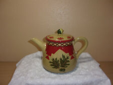 WOOLRICH OAK LEAF AND ACORN TEA/COFFEE POT EXCELLENT CONDITION