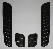 Aston Martin V12 Vantage Hood Vents - 100% Carbon Fiber