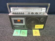 SONY CASSETTE-CORDER CFM-23 FM AM RADIO 2 WAY 80S BOOMBOX USED WORKING