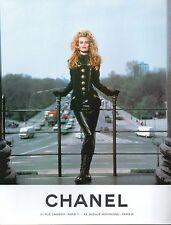 ▬► PUBLICITE ADVERTISING AD CHANEL Haute Couture (b) 1992