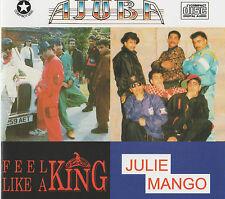 AJUBA - JULIE MANGO/ FEEL LIKE A KING BY AJUBA - NEW BHANGRA CD - FREE UK POST