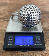 More details for ultra rare , solid silver dunhill golf ball bottle opener, marked 925 with box