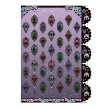 Sailor Moon Crystal A4 Paper 5 Pockets Indexed File Folder Cover Purple sun-star