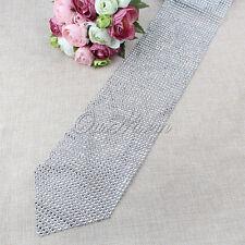 Diamond Mesh Table Runner Wrap Roll Rhinestone Ribbon Crystal Wedding Crafts